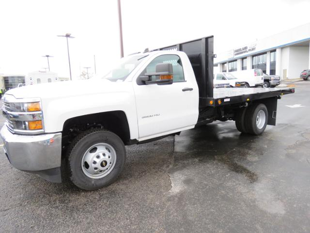 2017 Silverado 3500 Regular Cab 4x2,  Reading Platform Body #HF186234 - photo 1