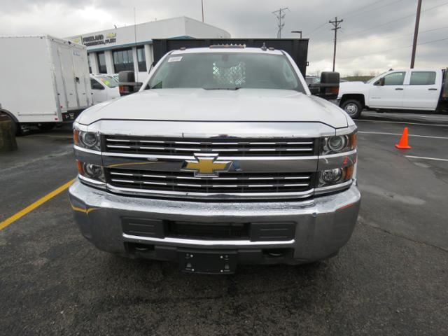 2017 Silverado 3500 Regular Cab 4x2,  Reading Platform Body #HF186234 - photo 8