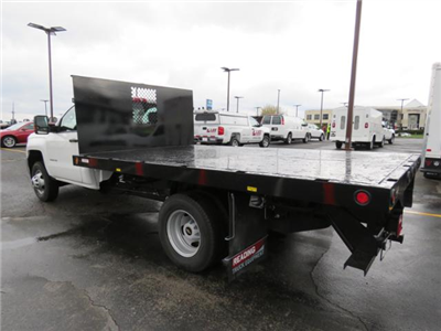 2017 Silverado 3500 Regular Cab 4x2,  Reading Platform Body #HF186234 - photo 2