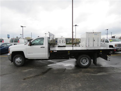 2017 Silverado 3500 Regular Cab 4x2,  Reading Platform Body #HF186234 - photo 7