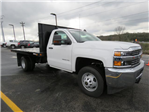 2017 Silverado 3500 Regular Cab 4x2,  Reading Platform Body #HF186234 - photo 3