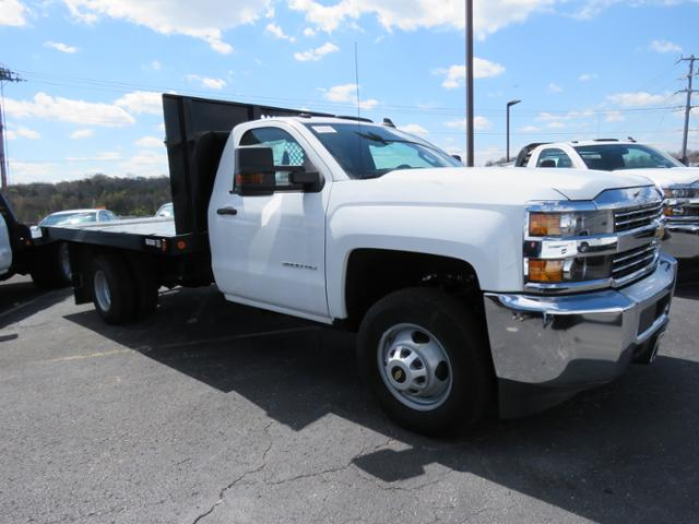 2017 Silverado 3500 Regular Cab 4x2,  Reading Platform Body #HF187723 - photo 3