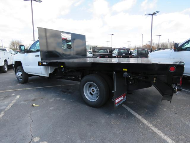 2017 Silverado 3500 Regular Cab 4x2,  Reading Platform Body #HF187723 - photo 2