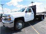 2017 Silverado 3500 Regular Cab 4x2,  Reading Platform Body #HF187723 - photo 1