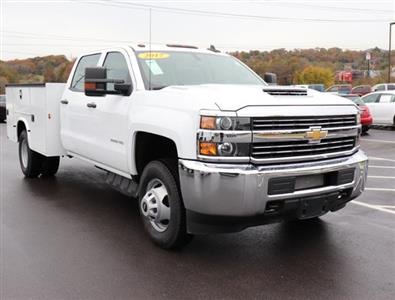 2017 Silverado 3500 Crew Cab DRW 4x2,  Service Body #HF207572 - photo 1