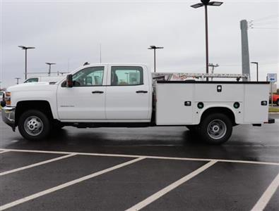2017 Silverado 3500 Crew Cab DRW 4x2,  Service Body #HF207572 - photo 7