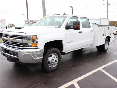 2017 Silverado 3500 Crew Cab DRW 4x2,  Service Body #HF207572 - photo 8