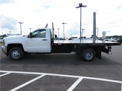 2017 Silverado 3500 Regular Cab DRW 4x2,  Reading Platform Body #HF241796 - photo 7