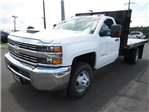 2017 Silverado 3500 Regular Cab DRW 4x2,  Reading Platform Body #HF241796 - photo 1