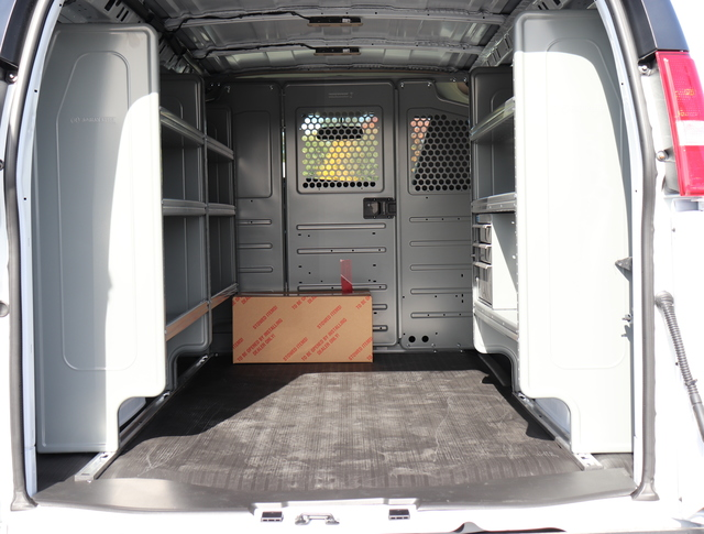2018 Express 2500 4x2,  Upfitted Cargo Van #J1335156 - photo 2