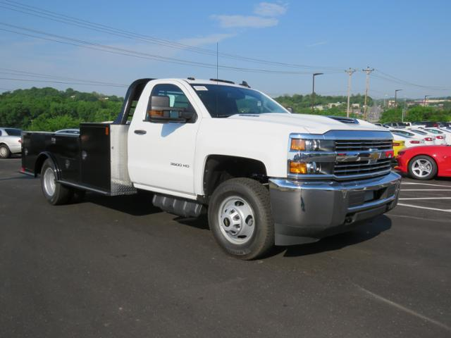 2018 Silverado 3500 Regular Cab DRW 4x4,  Hauler Body #JF211100 - photo 3