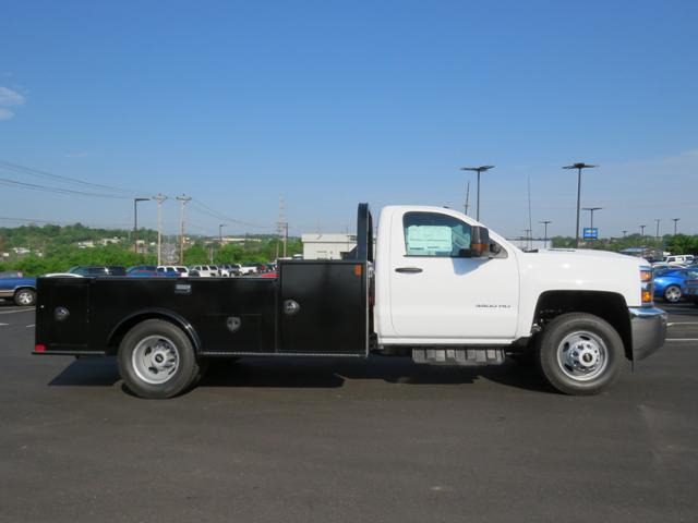 2018 Silverado 3500 Regular Cab DRW 4x4,  Hauler Body #JF211100 - photo 4
