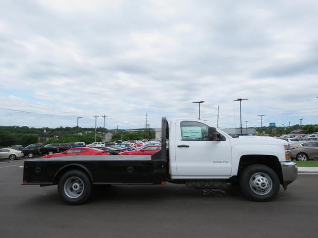2018 Silverado 3500 Regular Cab DRW 4x2,  CM Truck Beds Platform Body #JF215762 - photo 4