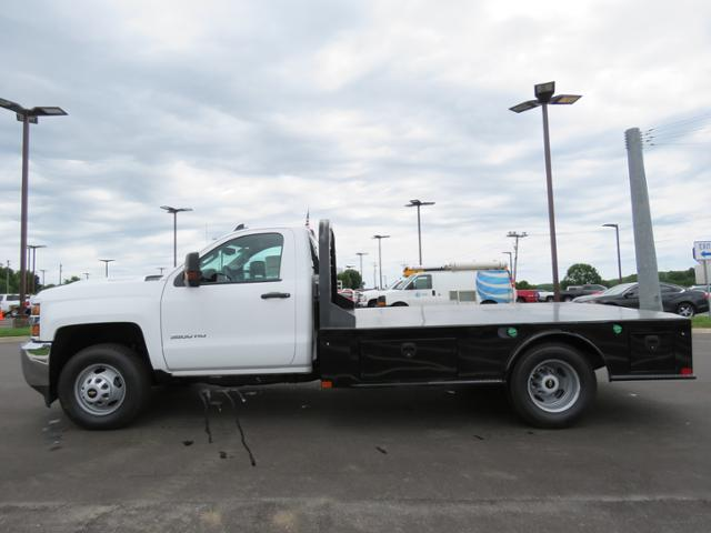 2018 Silverado 3500 Regular Cab DRW 4x2,  CM Truck Beds Platform Body #JF215762 - photo 7