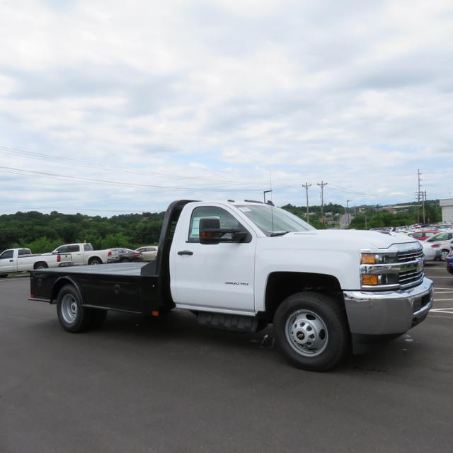 2018 Silverado 3500 Regular Cab DRW 4x2,  CM Truck Beds Platform Body #JF215762 - photo 28