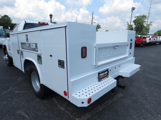 2018 Silverado 3500 Regular Cab DRW 4x4,  Reading SL Service Body #JF232145 - photo 2