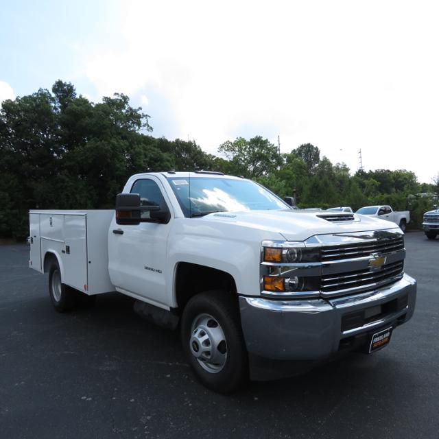 2018 Silverado 3500 Regular Cab DRW 4x4,  Reading SL Service Body #JF232145 - photo 31