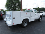2018 Silverado 3500 Regular Cab DRW 4x4,  Reading SL Service Body #JF232145 - photo 5