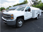 2018 Silverado 3500 Regular Cab DRW 4x4,  Reading SL Service Body #JF232145 - photo 1