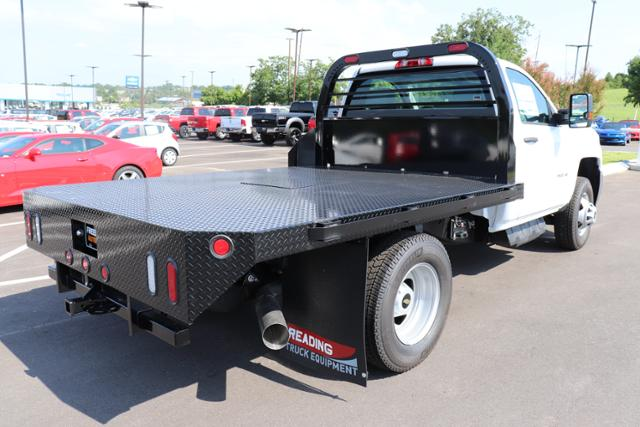 2018 Silverado 3500 Regular Cab DRW 4x4,  Reading Platform Body #JF232242 - photo 2