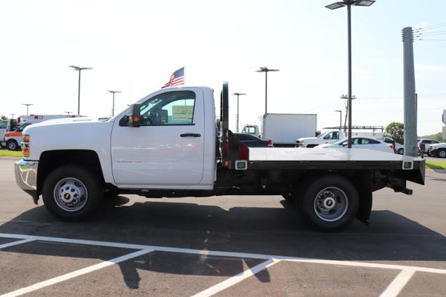 2018 Silverado 3500 Regular Cab DRW 4x4,  Reading Platform Body #JF232242 - photo 6