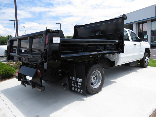 2018 Silverado 3500 Crew Cab DRW 4x4,  Rugby Dump Body #JF262522 - photo 5
