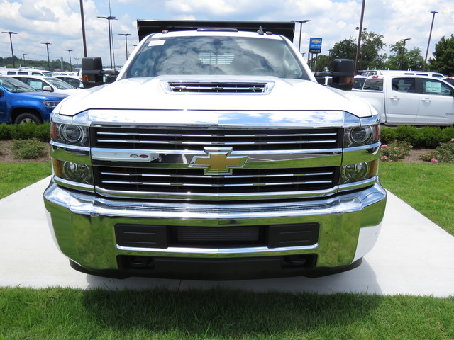 2018 Silverado 3500 Crew Cab DRW 4x4,  Rugby Dump Body #JF262522 - photo 7