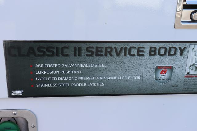 2018 Silverado 3500 Crew Cab DRW 4x4,  Reading Panel and Tapered Panel Service Utility Van #JF263292 - photo 14