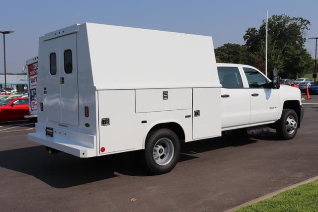 2018 Silverado 3500 Crew Cab DRW 4x4,  Reading Panel and Tapered Panel Service Utility Van #JF263292 - photo 5