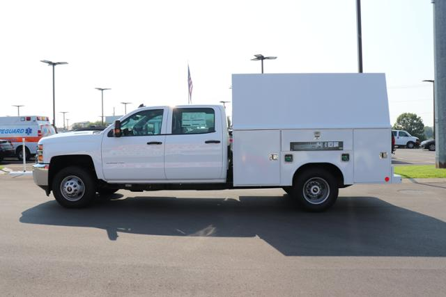 2018 Silverado 3500 Crew Cab DRW 4x4,  Reading Panel Service Body #JF263292 - photo 7