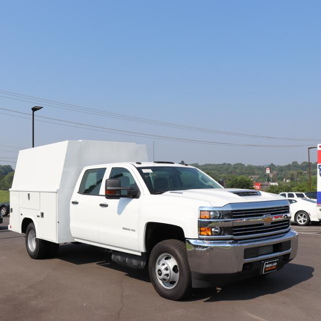 2018 Silverado 3500 Crew Cab DRW 4x4,  Reading Panel Service Body #JF263292 - photo 36
