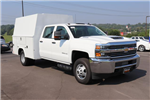 2018 Silverado 3500 Crew Cab DRW 4x4,  Reading Panel Service Body #JF263292 - photo 3