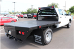 2018 Silverado 3500 Crew Cab DRW 4x2,  Commercial Truck & Van Equipment Gooseneck Platform Body #JF286455 - photo 4