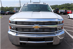 2018 Silverado 3500 Crew Cab DRW 4x2,  Commercial Truck & Van Equipment Gooseneck Platform Body #JF286455 - photo 8