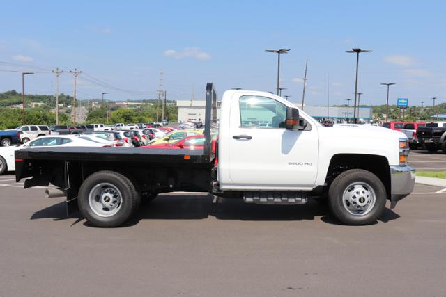 2018 Silverado 3500 Regular Cab DRW 4x4,  Reading Redi-Dek Platform Body #JF290666 - photo 5