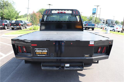 2018 Silverado 3500 Regular Cab DRW 4x4,  Reading Redi-Dek Platform Body #JF290666 - photo 6