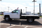 2018 Silverado 3500 Regular Cab DRW 4x4,  Reading Redi-Dek Platform Body #JF290666 - photo 7