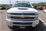2018 Silverado 3500 Regular Cab DRW 4x4,  Reading Redi-Dek Platform Body #JF290666 - photo 8