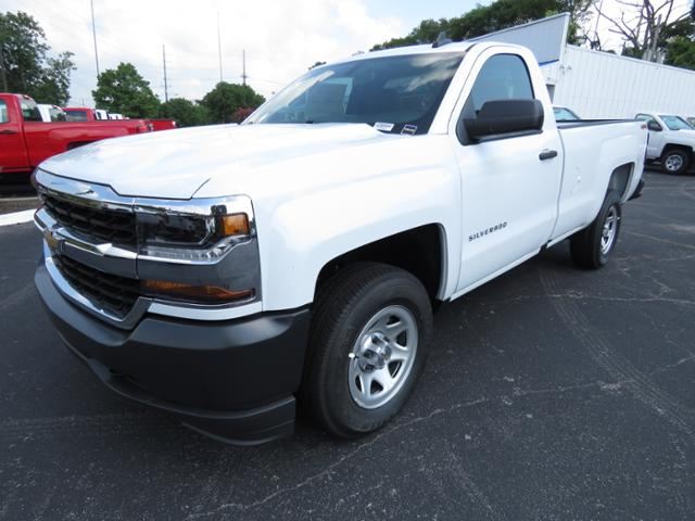 2018 Silverado 1500 Regular Cab 4x4,  Pickup #JZ369544 - photo 1