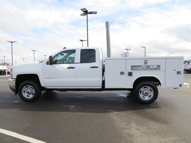 2019 Silverado 2500 Double Cab 4x2,  Reading Service Body #K1148068 - photo 6