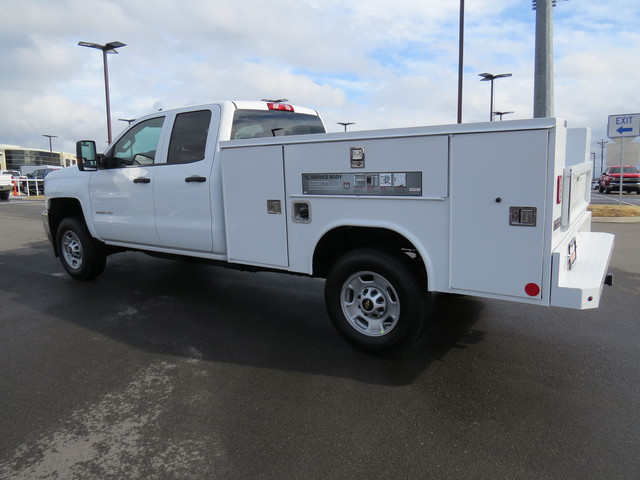 2019 Silverado 2500 Double Cab 4x4,  Reading Service Body #K1150219 - photo 5