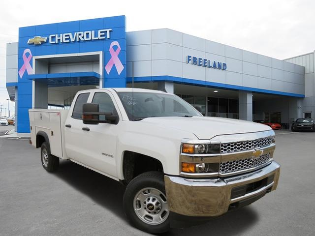 2019 Silverado 2500 Double Cab 4x2, Monroe Service Body #K1215456 - photo 1