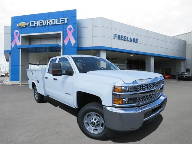 2019 Silverado 2500 Double Cab 4x2, Knapheide Service Body #K1215815 - photo 1