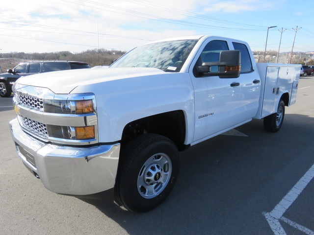 2019 Silverado 2500 Double Cab 4x2, Reading Service Body #K1216100 - photo 1