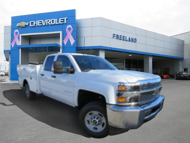 2019 Silverado 2500 Double Cab 4x2, Warner Service Body #K1223377 - photo 1