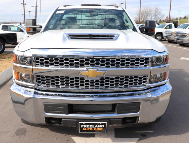 2019 Silverado 3500 Regular Cab DRW 4x4,  Reading Redi-Dek Platform Body #KF159230 - photo 10