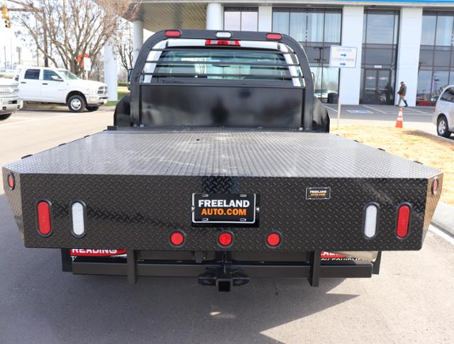 2019 Silverado 3500 Regular Cab DRW 4x4,  Reading Redi-Dek Platform Body #KF159230 - photo 7