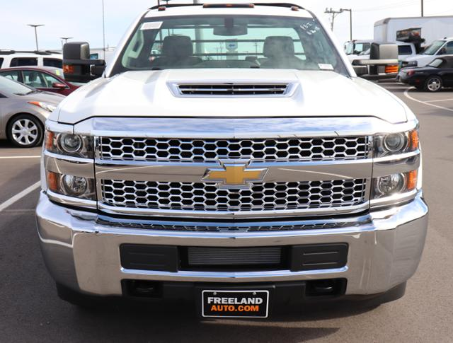 2019 Silverado 3500 Regular Cab DRW 4x4,  Reading Redi-Dek Platform Body #KF162683 - photo 9