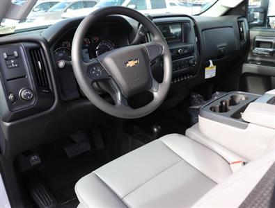 2019 Silverado 3500 Regular Cab DRW 4x4,  Reading Redi-Dek Platform Body #KF162683 - photo 14