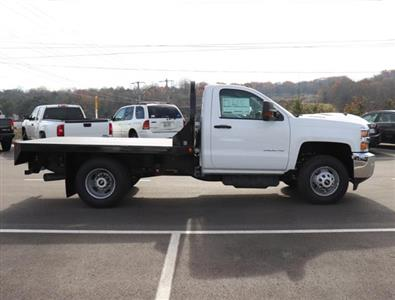 2019 Silverado 3500 Regular Cab DRW 4x4,  Reading Redi-Dek Platform Body #KF162683 - photo 5